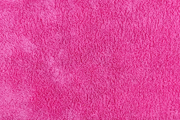 La surface et la texture du matériau synthétique du torchon en microfibre