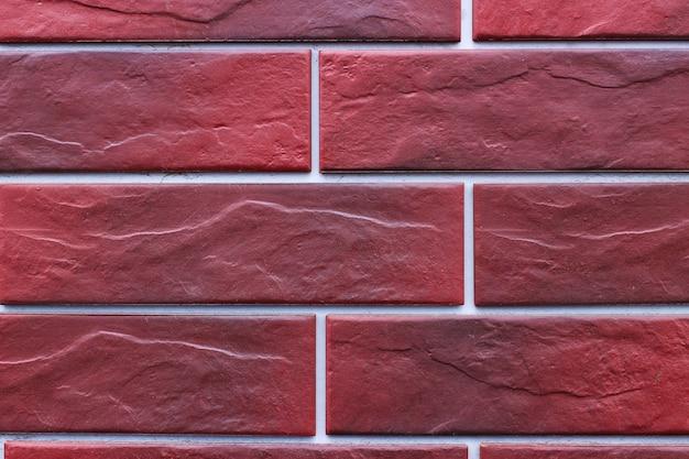 Surface ou texture d'un gros plan de brique