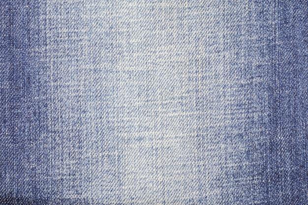 Surface de texture de jeans en denim bleu