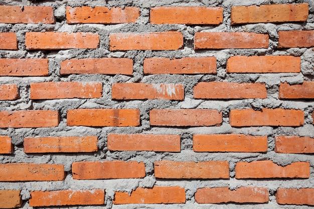 Surface de texture de mur de brique rouge