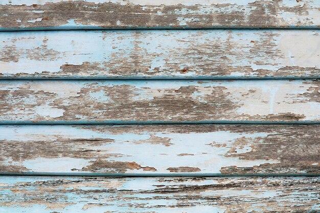 Surface de texture de vieux morceaux de bois et abrasions de couleur bleu clair par nature
