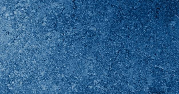 Surface texturée abstraite bleue classique
