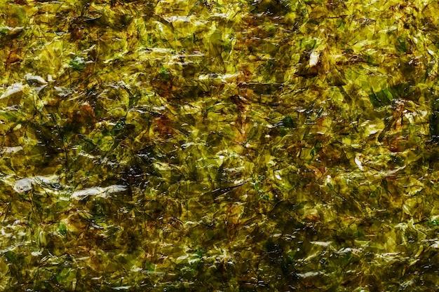 Surface texturée nori mate