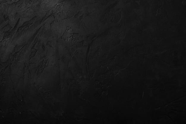 Surface texturée en pierre noire