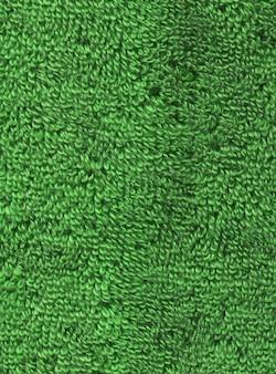 Surface texturée serviette verte