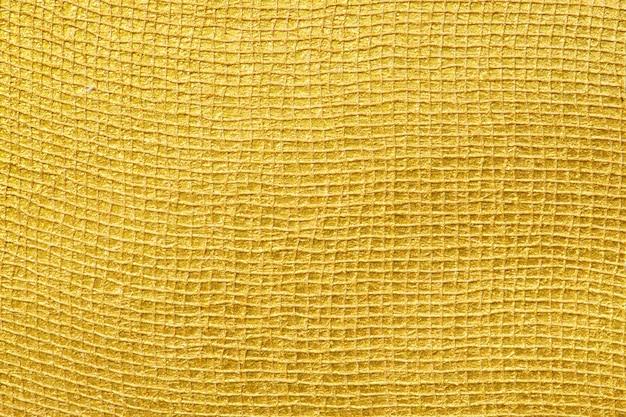 Surface texturée surface dorée brillante