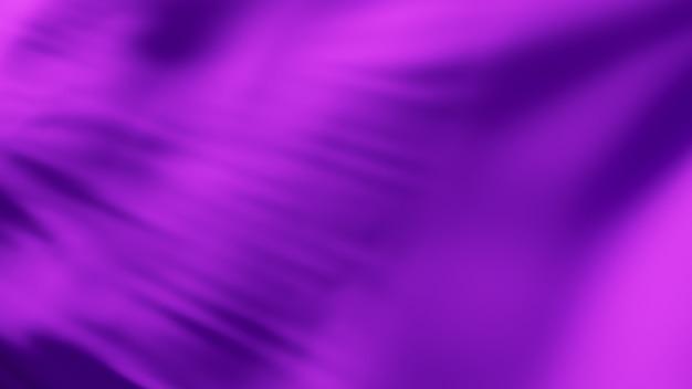 Surface de tissu de vague de soie violette. abstrait doux.