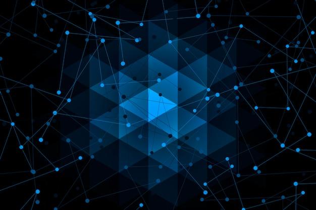 Surfaces, lignes et points de géométrie abstraite