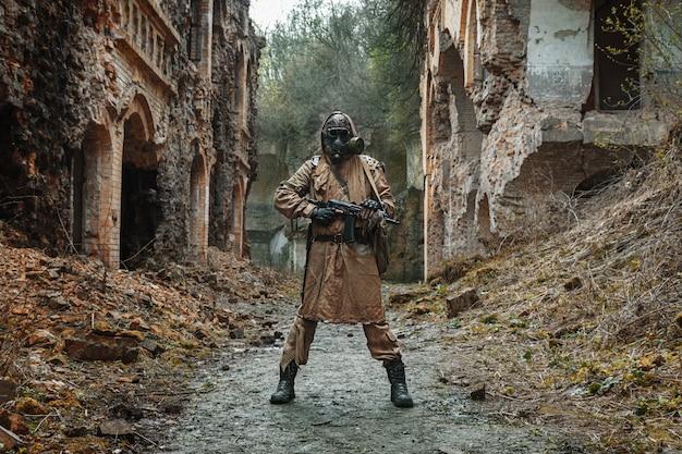 Survivant nucléaire après l'apocalypse