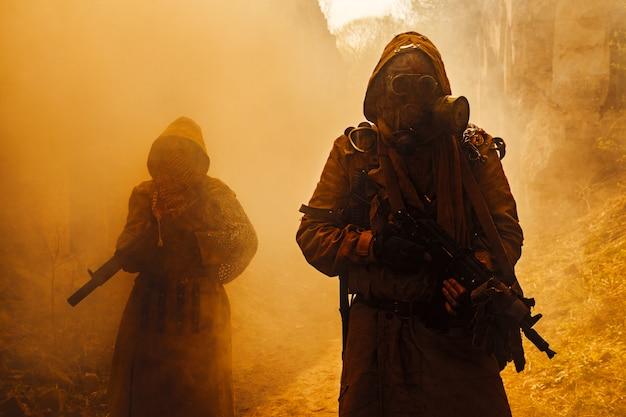 Survivants nucléaires post-apocalyptiques
