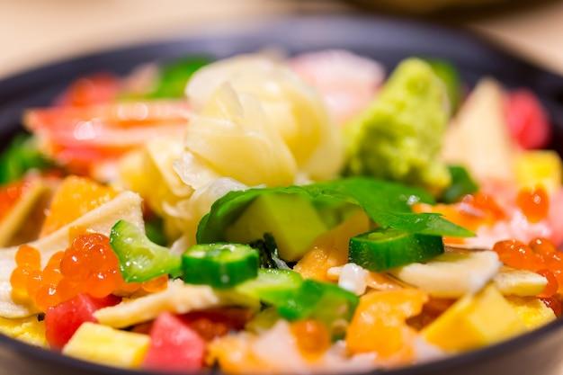 Sushi la cuisine japonaise à l'art.