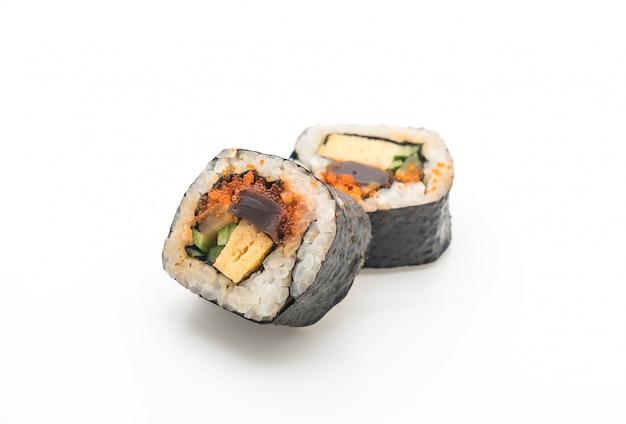 Sushi roll - style de cuisine japonaise