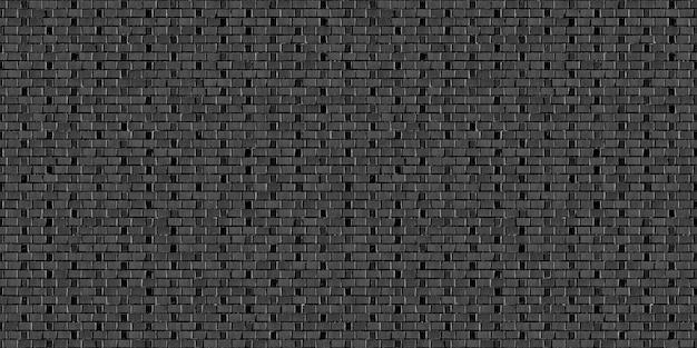 Sussex bond texture de fond sans couture de mur de brique noire