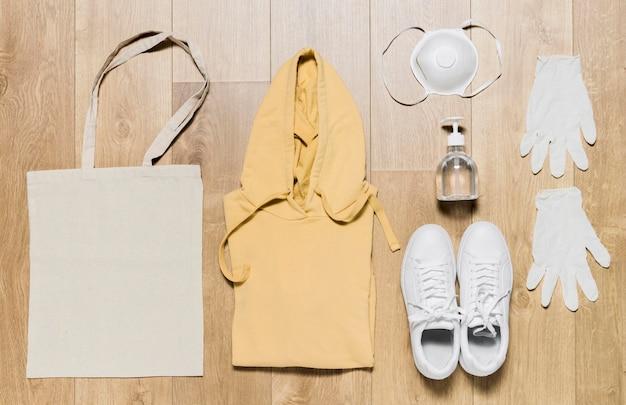 Sweat à capuche avec équipement de protection