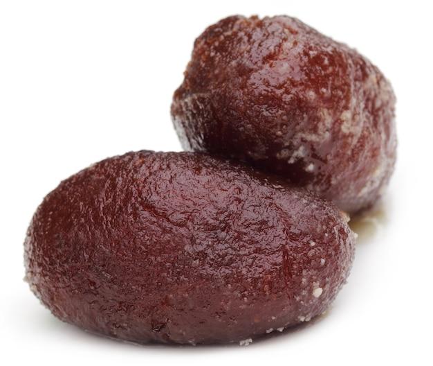Sweetmeat nommé kalojam dans le sous-continent indien