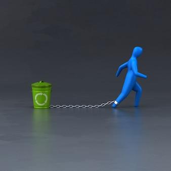 Symbole de charge - illustration 3d