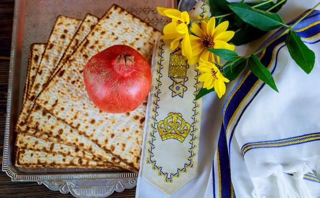 Symbole de la fête juive, nourriture juive pâque pâque juive