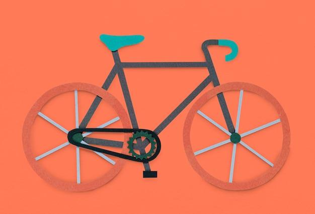 Symbole de passe-temps vélo vélo
