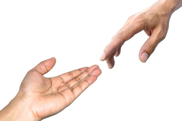 Le symbole utilisé pour se montrer un coup de main