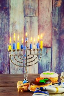 Symboles juifs hanukkah la fête juive des lumières symboles de la fête juive