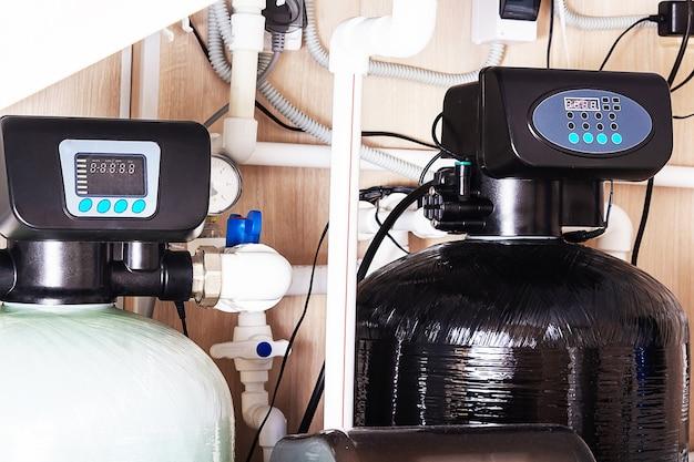 Système d'adoucisseur de filtre à eau domestique purification de l'eau