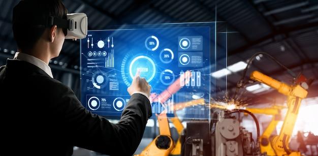 Système de bras de robot avancé pour l'industrie numérique et la technologie robotique d'usine