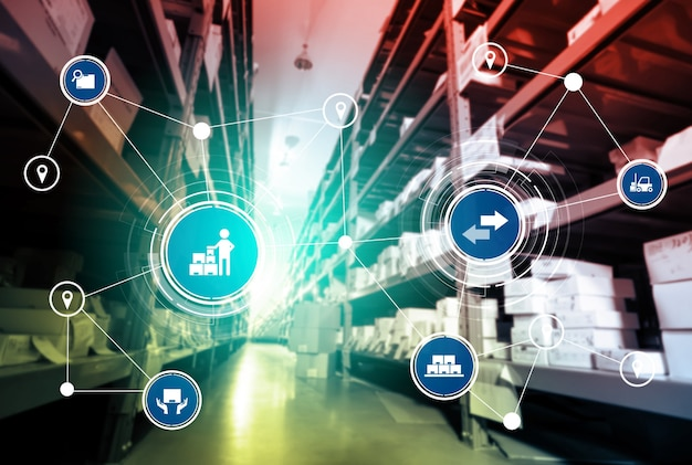 Système de gestion d'entrepôt intelligent avec technologie innovante de l'internet des objets