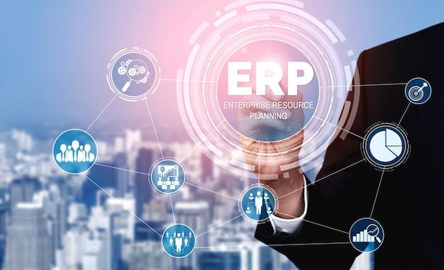 Système logiciel erp de gestion des ressources d'entreprise pour le plan des ressources de l'entreprise