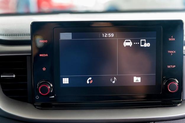 Système multimédia d'une voiture moderne