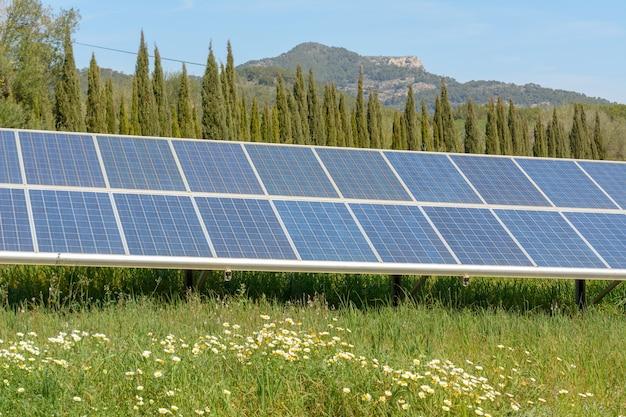 Système de production d'énergie solaire photovoltaïque