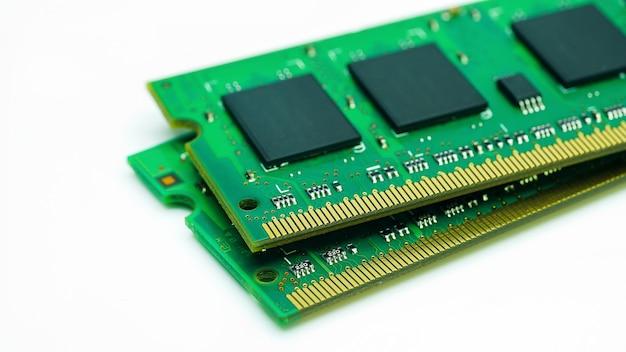 Système ram de l'ordinateur mémoire principale de la mémoire à accès aléatoire de l'ordinateur de bord détail libre