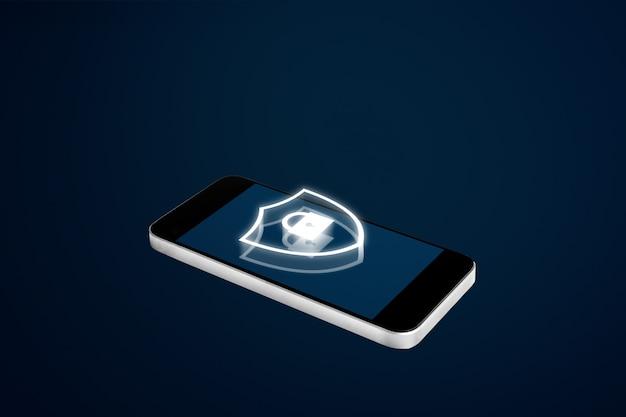 Système de sécurité pour téléphone portable et technologie d'application