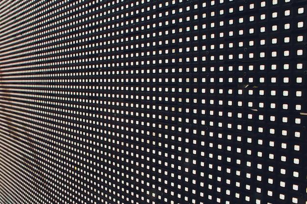 Système de technologie de lumière numérique led abstrait.