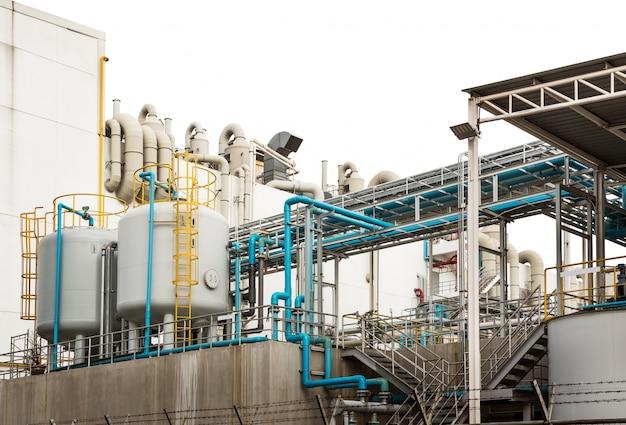 Système de tuyauterie industrielle