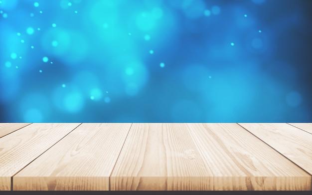 Table en bois. tableau vide. texture du bois