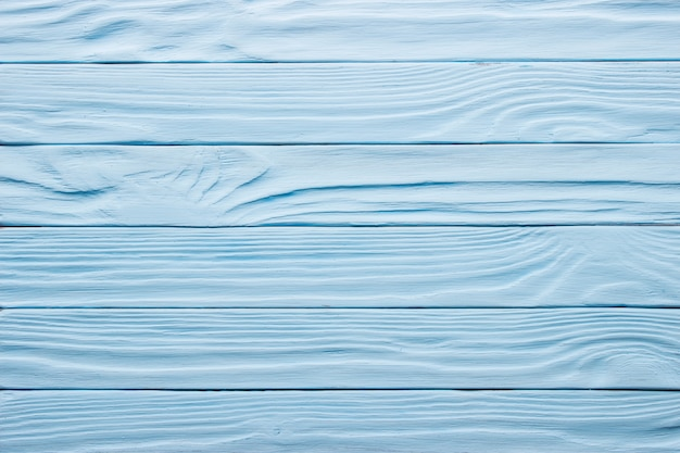 Table en bois vieilli bleu