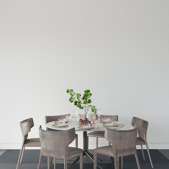 Table et chaises dans une salle à manger