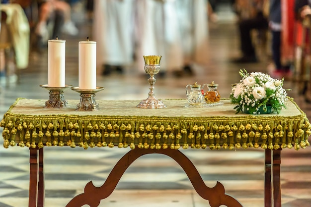 Table de la communion