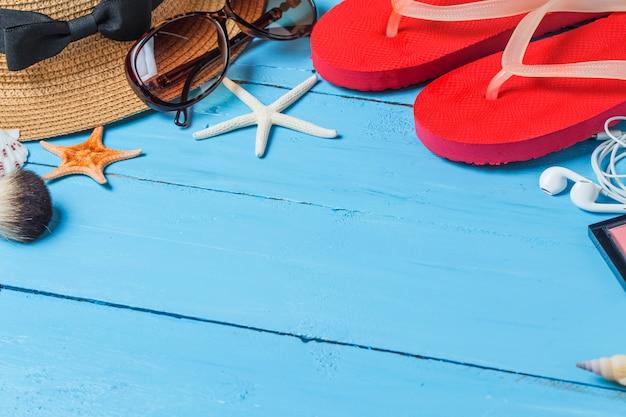 Table couleur supérieure plage naturelle