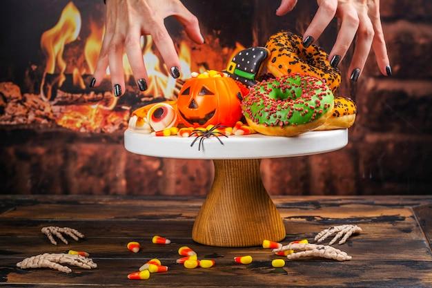 Table de fête halloween