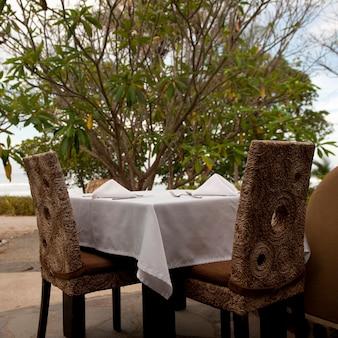 Table à manger au costa rica