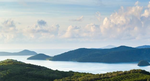 Table mountains et andaman oean