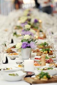 Une table pour fêter