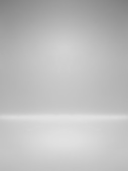 Tableau d'affichage vide blanc avec éclairage dégradé utilisé pour l'arrière-plan et afficher votre produit
