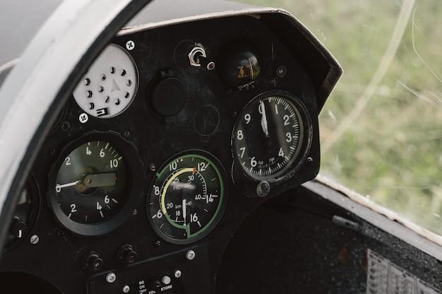 Tableau de bord aérométrique planeur d'aéronefs