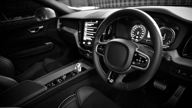 Tableau de bord intérieur de voiture automobile