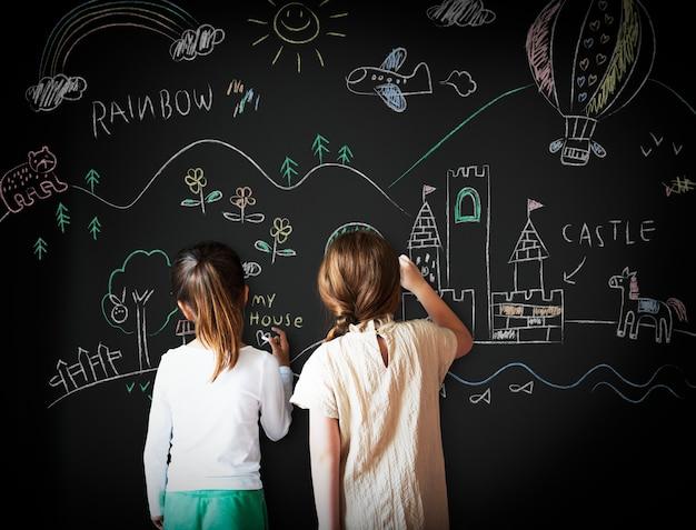 Tableau idée dessin idée créative idée concept