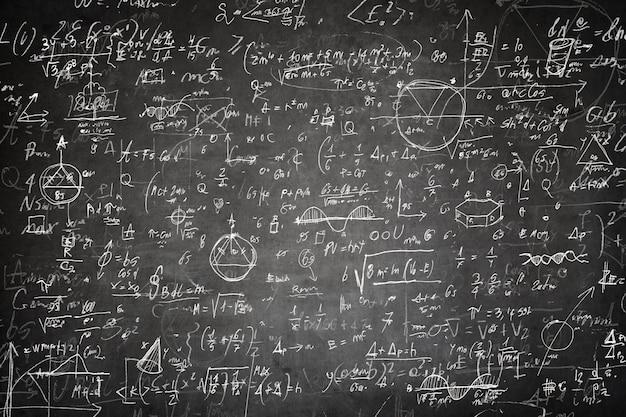 Tableau mathématique