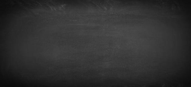 Tableau noir nettoyé de craie, fond de tableau noir pour le texte