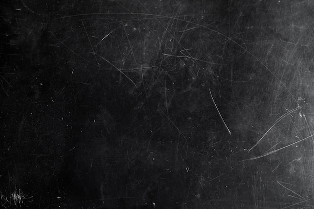 Tableau noir avec rayures et éraflures